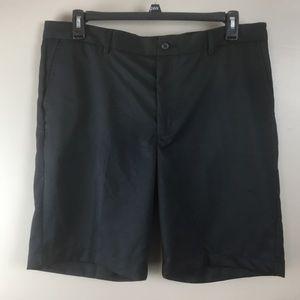 Greg Norman Mens black golf shorts (38)